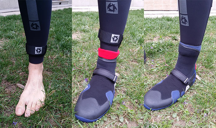 neoprenové boty versus neopren