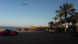 pláže na kite egypt
