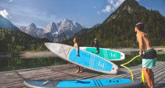 výlet na paddleboardu