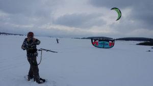 Křižanov snowkiting