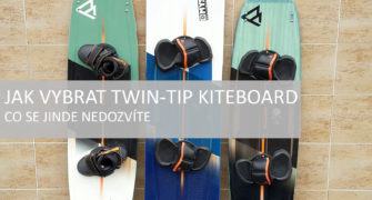 jak vybrat kiteboard