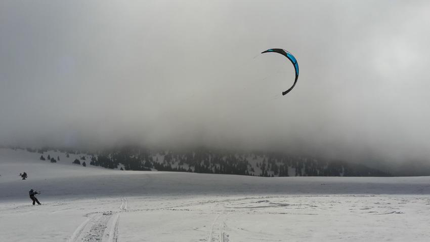 snowkiting martinky