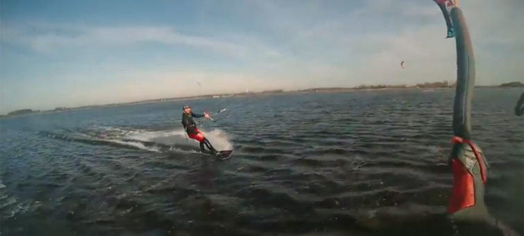 video - kiteboarding
