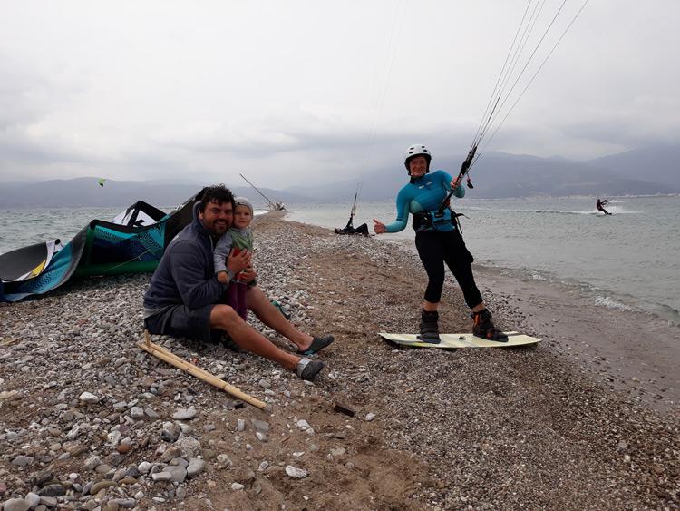 kite trip řecko 2018