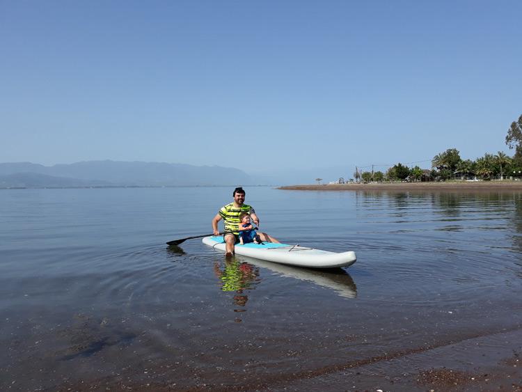 paddleboard řecko