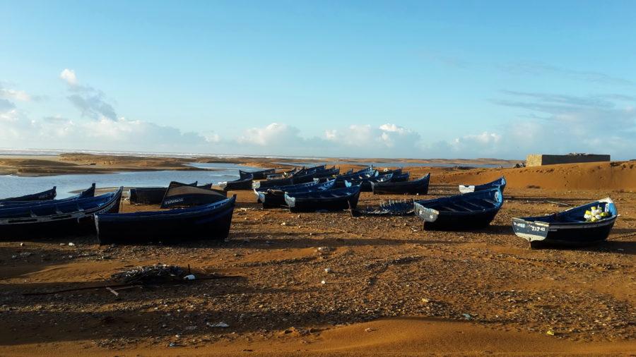modré loďky