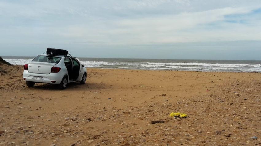 Dacia na pláži Jimiho Hendrixe