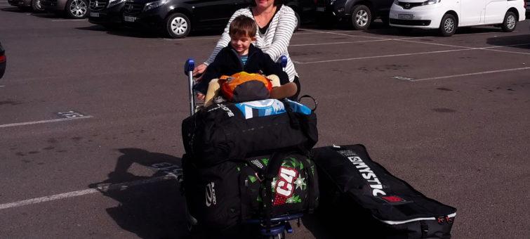 cestování s boardbagem