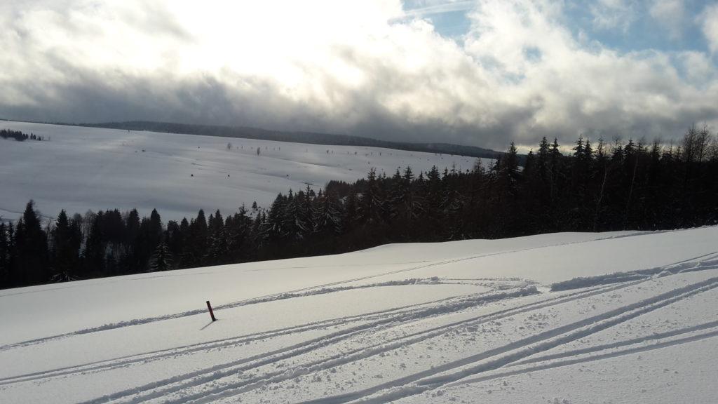 V neděli odpoledne nastala snowkitová pohádka.
