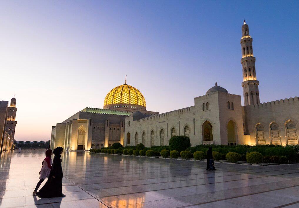 mešita omán
