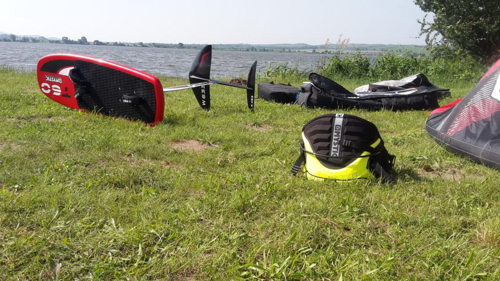 vybavení pro hydrofoil