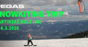 Snowkiting trip Pegas Mystic