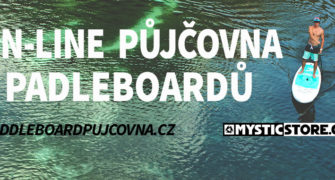 Pujcovna paddleboardu Brno