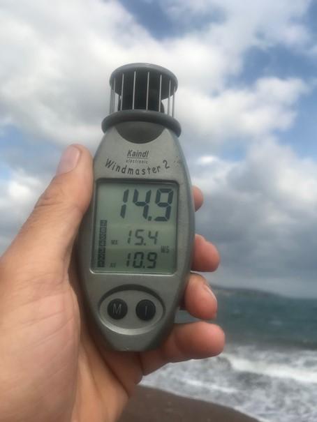 měření větru