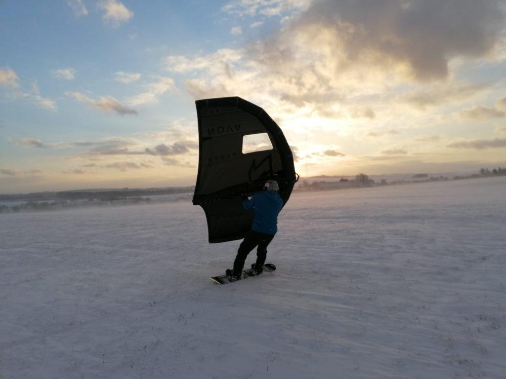 zimní wingování